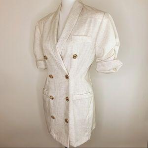 Vintage Dawn Joy Blazer Jacket Size 9/10 Vtg